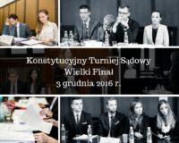 Finał Konstytucyjnego Turnieju Sądowego